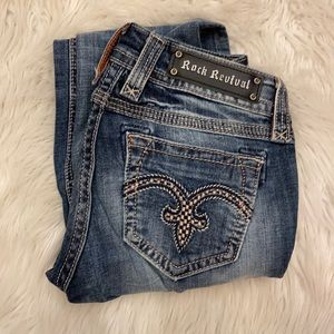 Rock revival alanis straight jeans